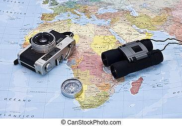 Adventure travel around the world