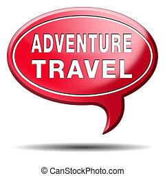 adventure travel and explore the world adventurous...