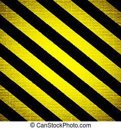 advertencia, raya, plano de fondo