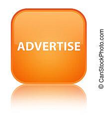Advertise special orange square button