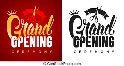 Advertisement Of Grand Opening