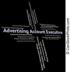 Advertising Account Executive Represents Balancing The Books And Md