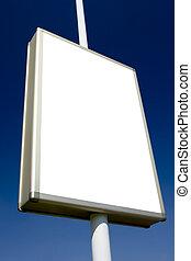 advertising billboard - blank advertising billboard ready...