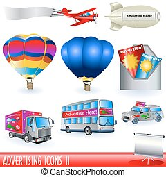 Advertising Icons 2