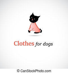 advertising label clothing for dogs