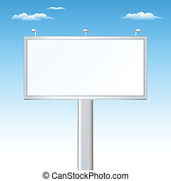 Advertising Outdoor - Advertising Billboard And Sky