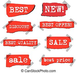 advertising promotion stickers