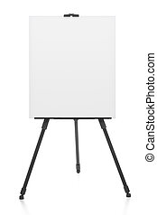 advertising stand or flipchart or blank artist easel...