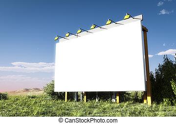 Advertising wall