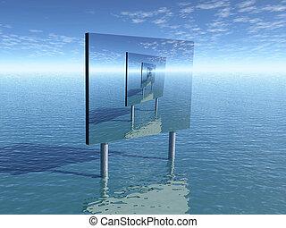 advertismen - Advertisment on sea