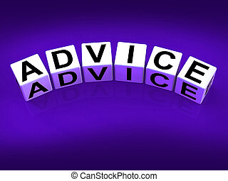 Advice Blocks Indicate Direction Recommendation and Guidance