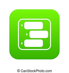 Advice chat icon green