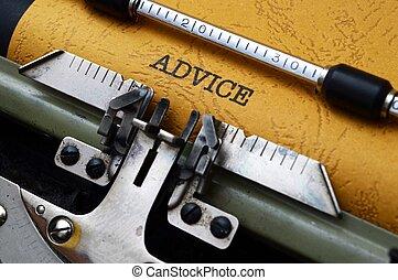 Advice on typewriter