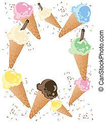 advirta, sorvete