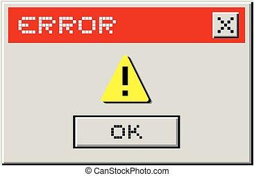 Advise error - Creative design of advise error