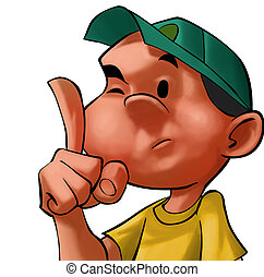 adviser boy - boy pointing with his finger advising