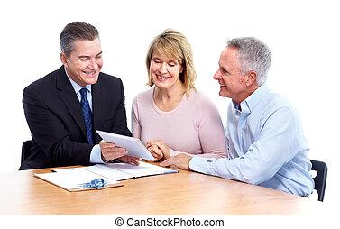 adviser., sênior, financeiro, par
