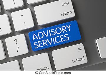 Advisory Services Key. 3D Rendering.