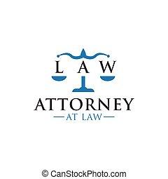 advocaat, grafisch ontwerp, mal, logo, wet, pictogram
