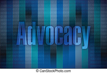 advocacy sign illustration design
