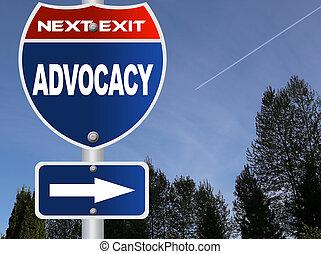 advocacy, sinal estrada