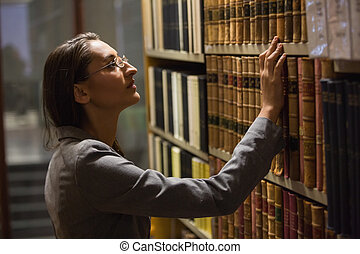 advogado, livro, colheita, biblioteca, lei