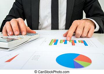 advokacie graf, účetní, ruce, nárys, rozběraní