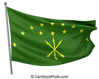 Adygea National Flag