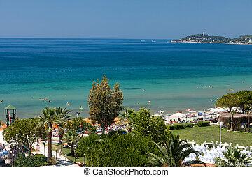 Aegean coast - Recreaiton area and beach