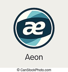 Aeon Cryptographic Currency - Vector Symbol. - Aeon - ...