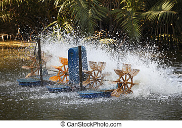 aeration engine used on Cultivation fishery pond