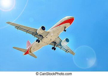 aereo, atterraggio