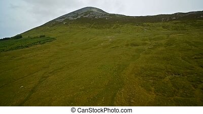 Aerial Around Croagh Patrick, County Mayo, Ireland - Graded...