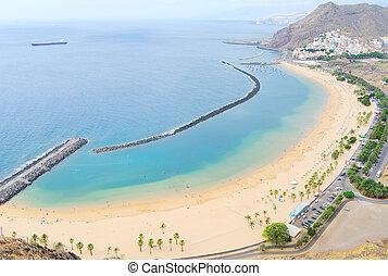 Las Teresitas beach, Tenerife