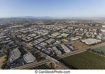 Aerial Camarillo California - Aerial view of Camarillo...
