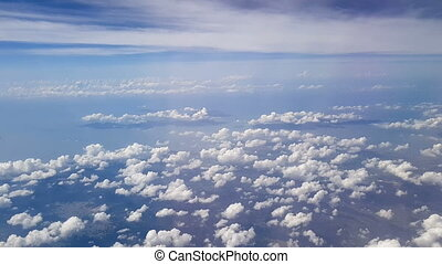 Aerial Clouds Background Shot 7 - Lovely aerial shot from...