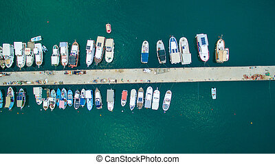 boats in the pier