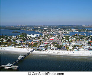 Aerial, Fort Myers Beach