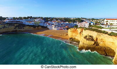 Aerial from Carvoeiro Portugal - Aerial from the village...