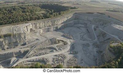 Aerial, German Quarry - Native Version - Native 10 Bit, Log...
