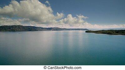 Aerial, Golfo Colorado, Costa Rica - Graded and stabilized...
