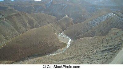 Aerial, Gorge Du Dades, Dades Gorge, Morocco. Ungraded...
