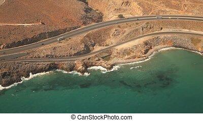 Aerial, Island of Crete, Greece