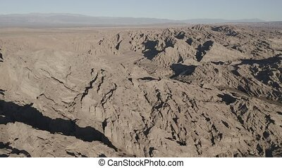 Aerial, Mirador Valle Encantado, Argentina - flat (HLG)...