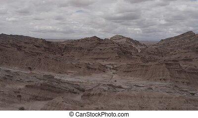 Aerial, Mirador Valle Encantado, Argentina - native 10Bit...