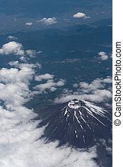 Aerial Mount Fuji