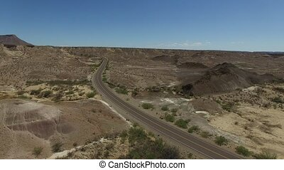 Aerial of Big Bend National Park - This is an aerial video...