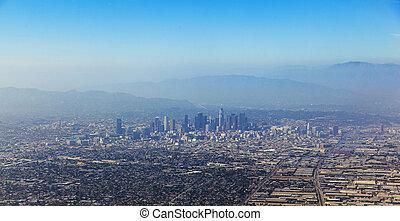 aerial of Los Angeles