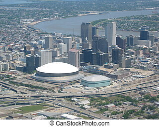 New Orleans - Aerial of New Orleans