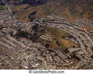 Aerial of South San Francisco